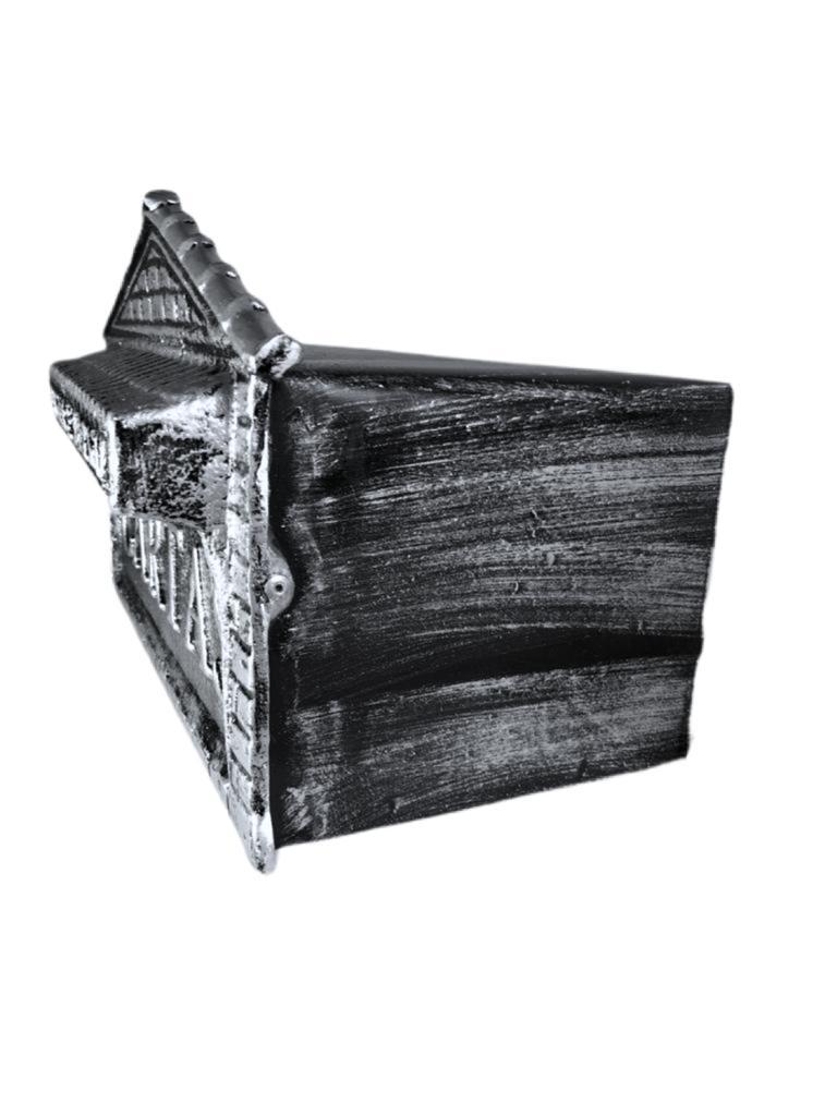 Caixa De Correio Alumínio P/ Portão Ou Muros (jornal)