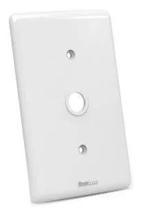 Placa Espelho 2x4 - Cega Com Furo De Ø ½