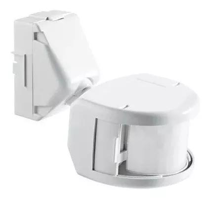 Sensor Presença Frontal Externo Branco Exatron