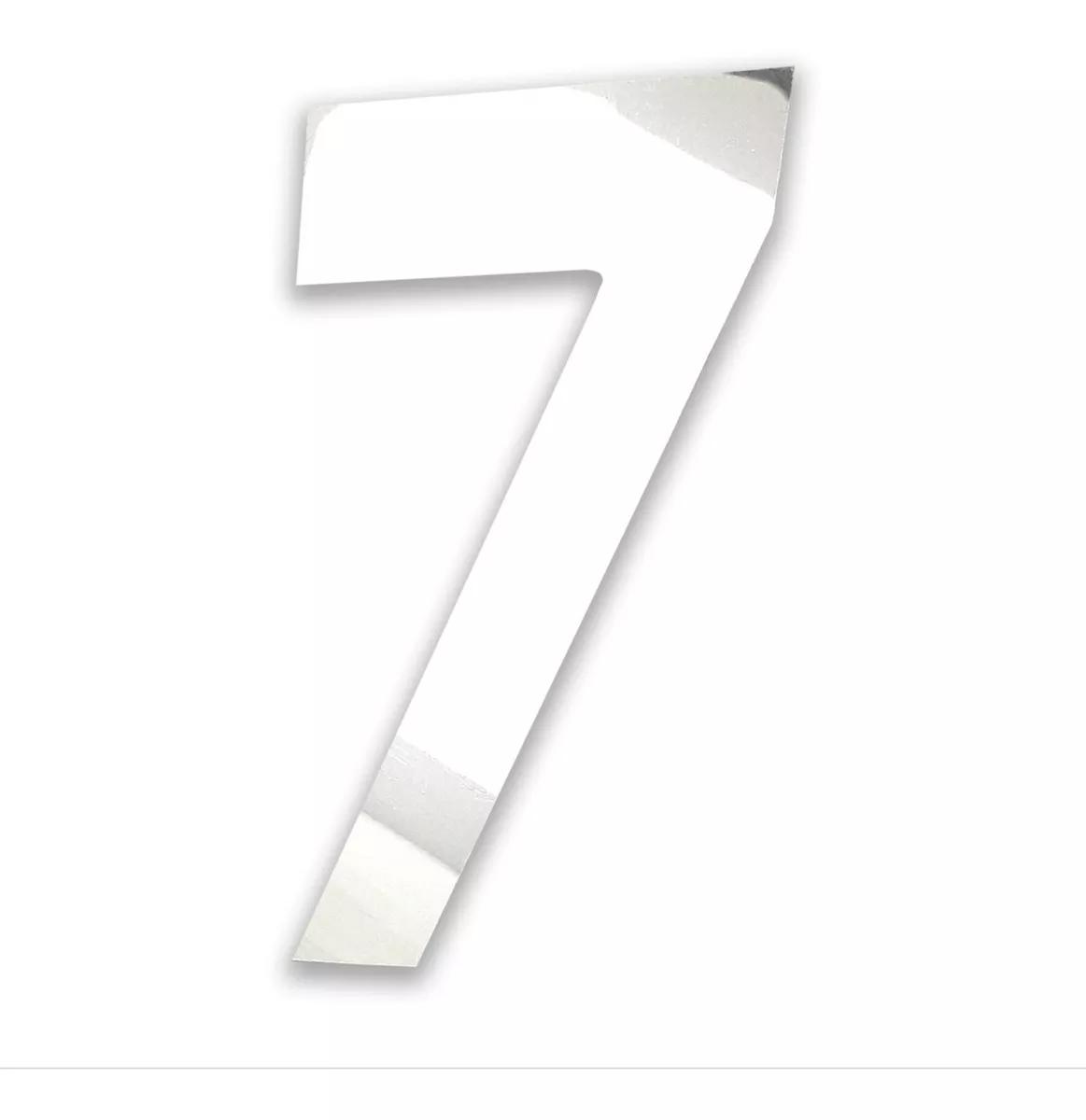 Número Residencial Em Inox Polido Alto Brilho Dupla Face
