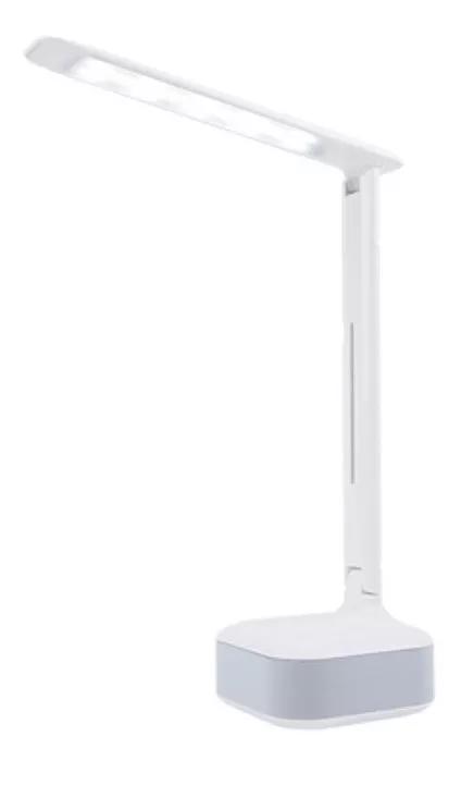 Luminária Soundshine 8w De Mesa Haste Flexivel Touch E Som