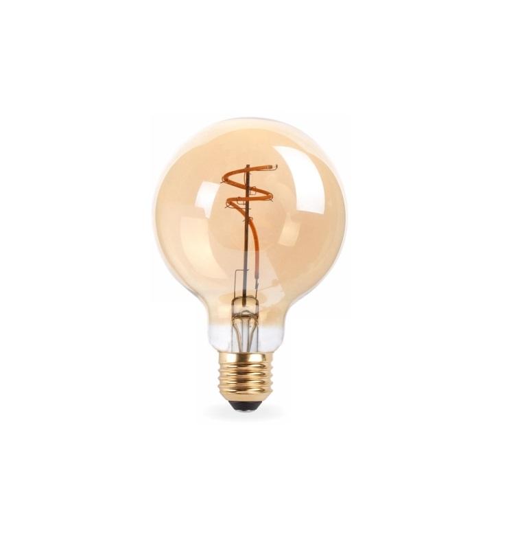 Lampada Led Filamento retro 2w 2200 K G95
