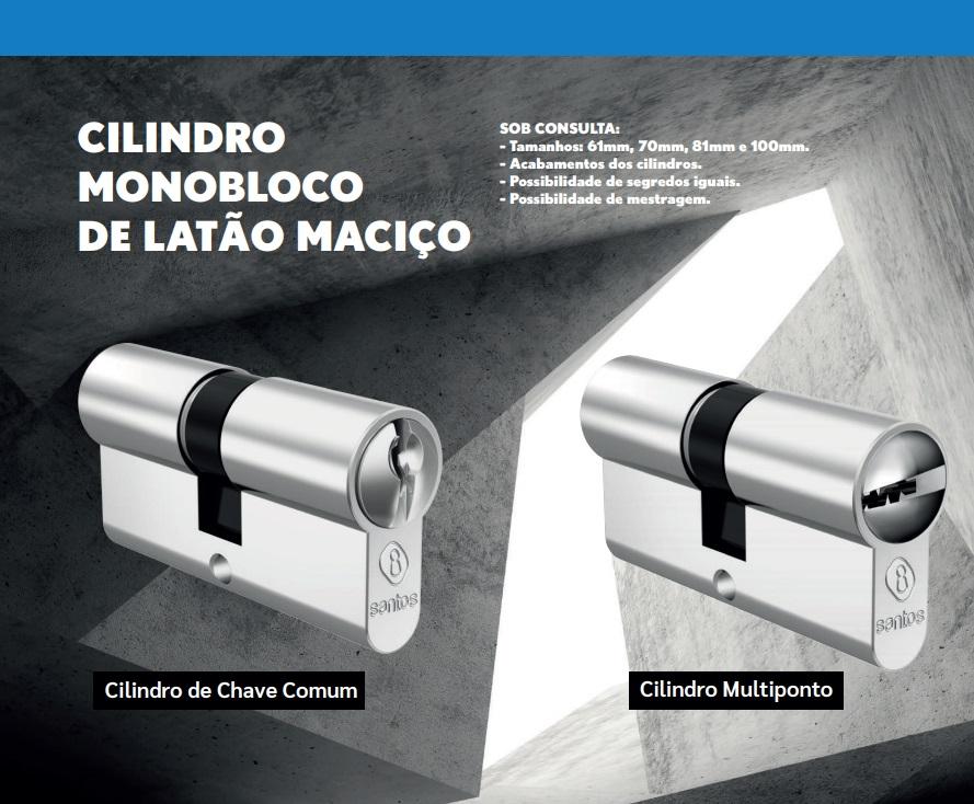 fechadura Santos Fortinox 3200 RQCR Banheiro colors