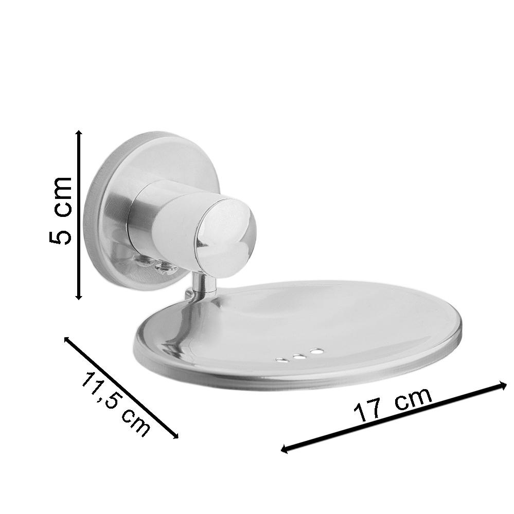 Saboneteira Para Banheiro Simples Com Dupla Face 3m