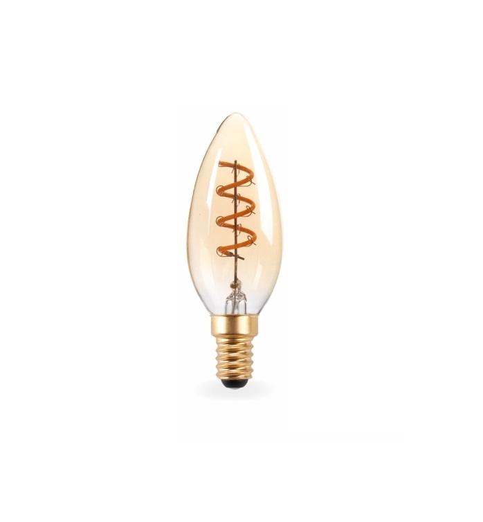 Lampada Led Filamento retro 2w 2200 K C35