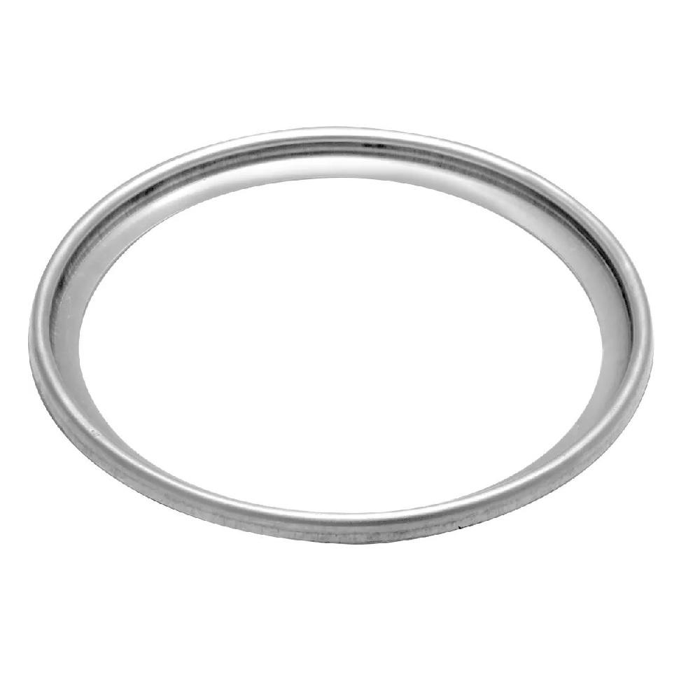 Porta grelha aço inox redondo 15x15 cm