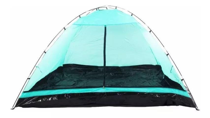 Barraca Camping Dome 6 Premium C/ Cobertura Para Chuva