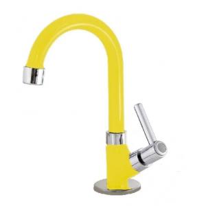 Torneira Banheiro 1298 Luxo Bancada Pia C34 1/4 Volta Color