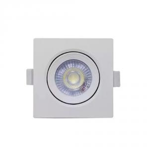 SPOT SUPER LED 7W LAMPADA QUADRADA C/ GARANTIA