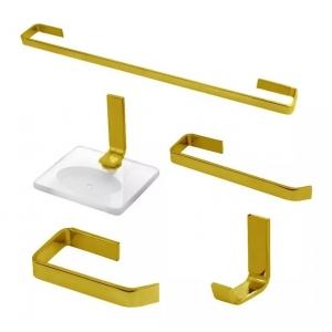 Kit Acessórios Para Banheiro Athena Em Vergalhão