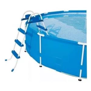 Escada Para Piscina 3 Degraus 1,07m Premium Bel Lazer