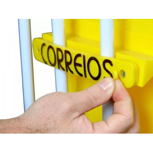 Caixa De Correio/correspondência Master Para Grade 36x26cm