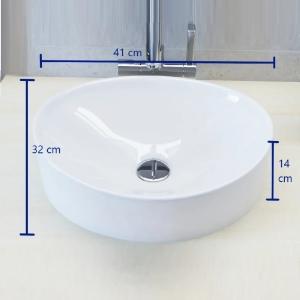 Cuba de apoio banheiro marmore sintético berlim