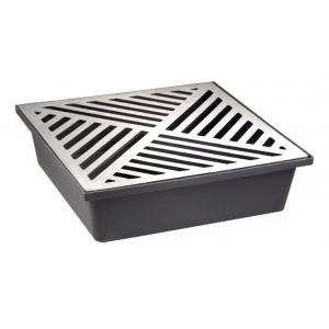 Caixa Coletora Grelha Em Aluminio Saida Inferior