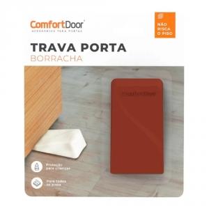 Trava porta borrracha anti-risco confortdoor