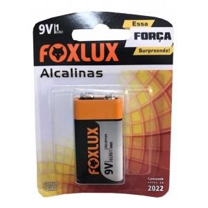 BATERIA ALCALINA D FOXLUX ORIGINAL BLISTER 9V