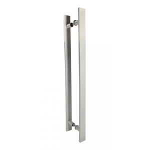 Puxador Para Portas Madeira / Vidro Alumínio Branco
