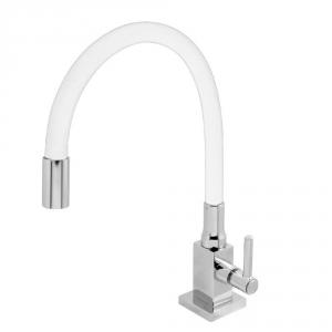 Torneira Colorida Square Tubo Silicone Flexivel 4168 C70