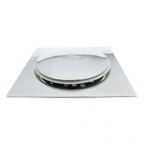 Kit Ralo Click Inteligente Em Inox 10x10 Cm + Porta Grelha