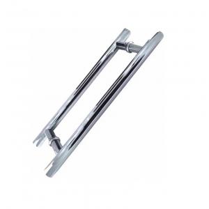 Puxador H Inox 40cm X 30cm Portas Vidro Madeira