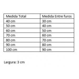 Puxador Para Portas Madeira / Vidro Alumínio Curvo Bronze