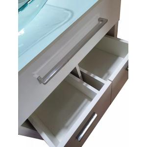 Gabinete Para Banheiro VB 5047 + Espelho + cuba canoa