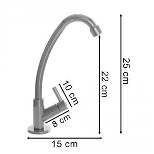Torneira Bica Movel Mesa Abs 1/4 Volta 1167
