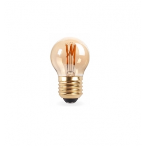 LAMPADA LED FILAMENTO RETRO 2W 2200 K G45