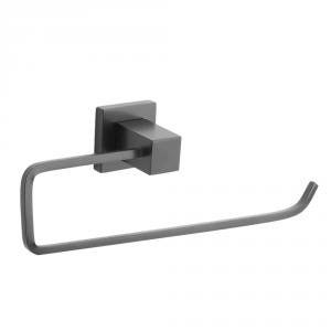 Porta Toalha Rosto Para Banheiro Metal Quadrado Luxo